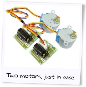 Two motors, just in case